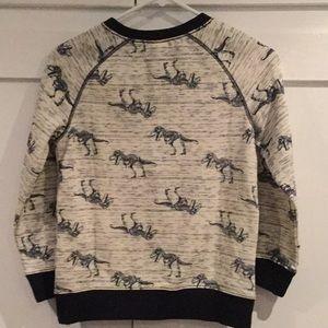 Gymboree Shirts & Tops - Gymboree dinosaur crew neck sweatshirt M (7-8)
